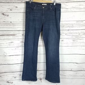 Levi's 415 relaxed boot cut jeans size 18W